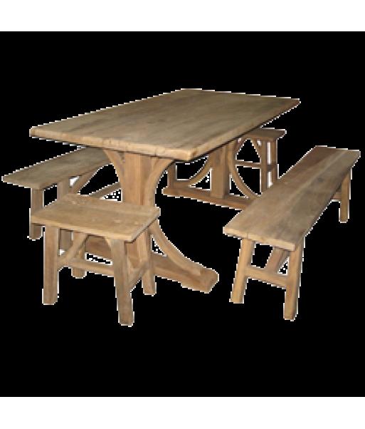 Reclaimed Elm Dinning Table