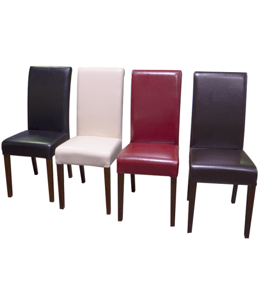 Leather Dining Chair 4 Colours