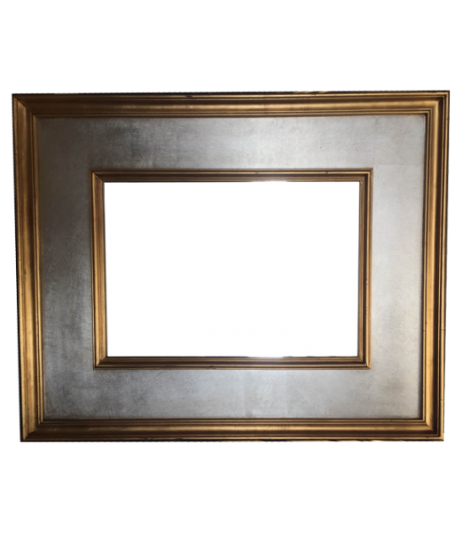 M014 Silver Miror In Gold Or Silver Trim